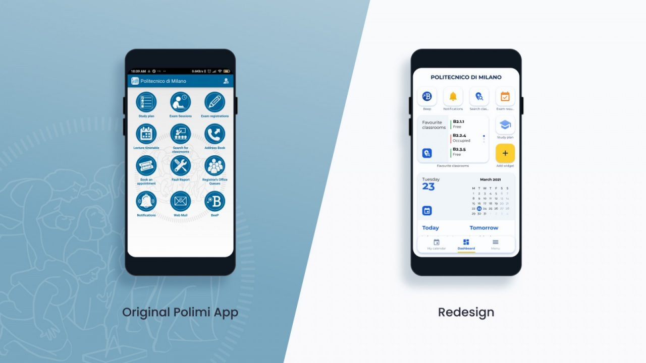 COVER_POLIMI APP REDESIGN
